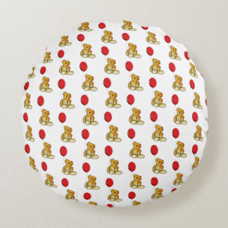 Teddy Round Pillow
