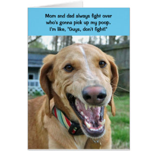 Teddy the Spaz Man Funny Birthday Card Pick Up