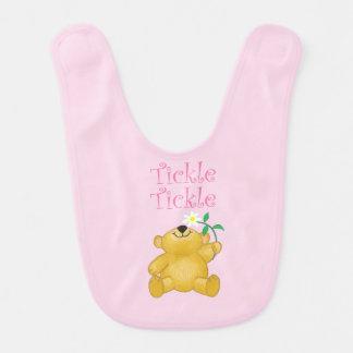 Teddy Tickles Baby Bib