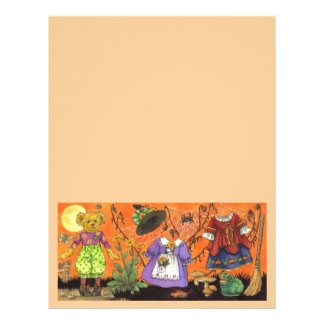 Teddy Witch large stationery