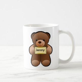 Teddy With Name Coffee Mug