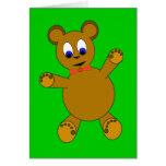 teddybear greeting card