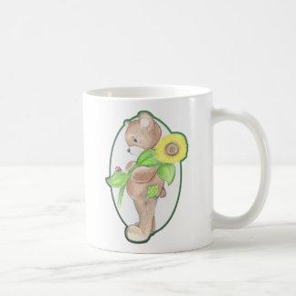 Teddybear, Ladybug, and Sunflower Mug
