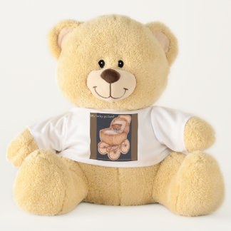 """""""Teddy's baby picture!"""" Teddy Bear"""