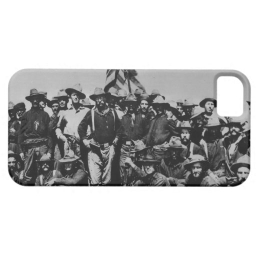 Teddy's Colts Teddy Roosevelt Rough Riders 1898 iPhone 5/5S Covers