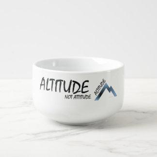 TEE Altitude Not Attitude Soup Mug