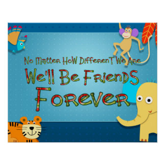 TEE Animal Friends Poster