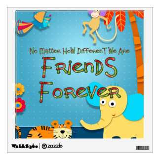 TEE Animal Friends Wall Sticker
