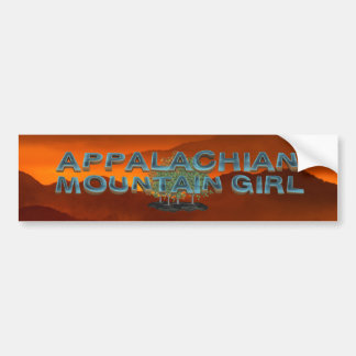 TEE Appalachian Mountain Girl Bumper Sticker