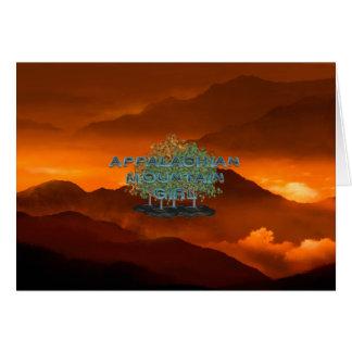 TEE Appalachian Mountain Girl Card