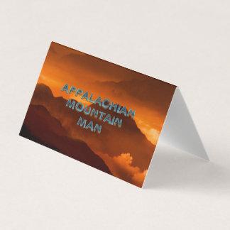 TEE Appalachian Mountain Man Business Card