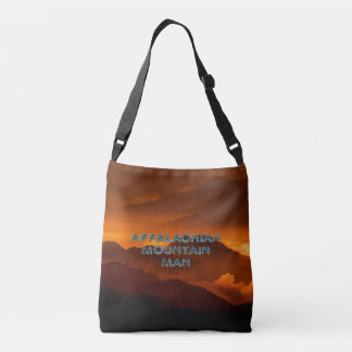 TEE Appalachian Mountain Man Crossbody Bag
