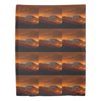 TEE Appalachian Mountain Man Duvet Cover