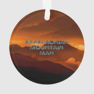 TEE Appalachian Mountain Man Ornament