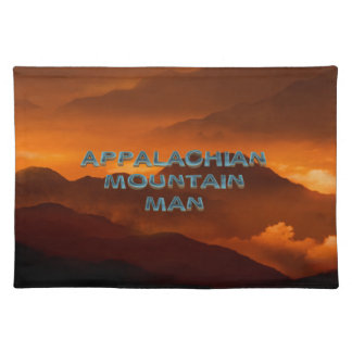 TEE Appalachian Mountain Man Placemat