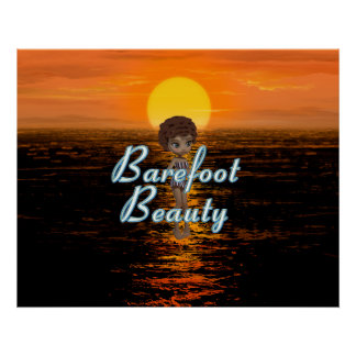 TEE Barefoot Beauty Poster