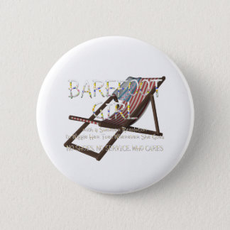 TEE Barefoot Girl 2 Inch Round Button