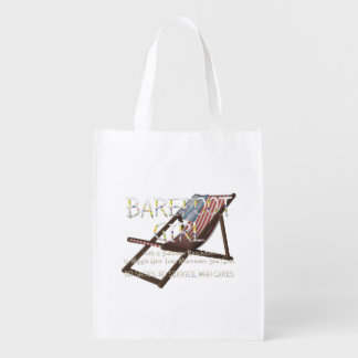 TEE Barefoot Girl Reusable Grocery Bag