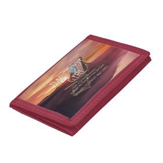 TEE Barefoot Girl Tri-fold Wallet
