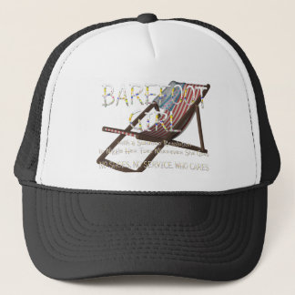 TEE Barefoot Girl Trucker Hat