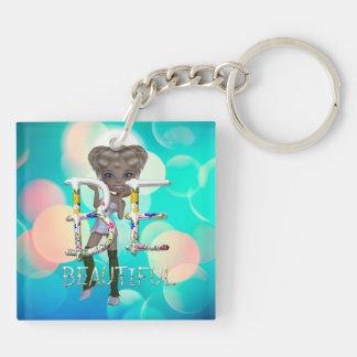 TEE Be Beautiful Keychain