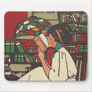 TEE Book Worm Mouse Pad