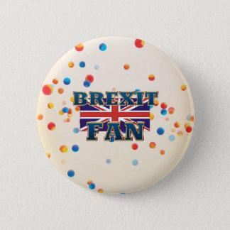 TEE Brexit Fan 2 Inch Round Button