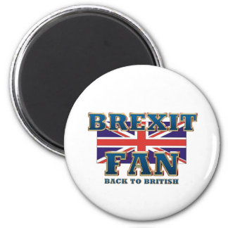 TEE Brexit Fan 2 Inch Round Magnet