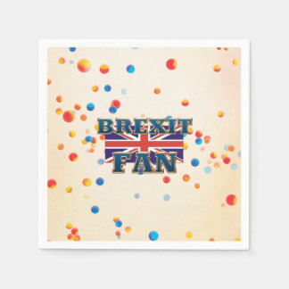 TEE Brexit Fan Disposable Napkin