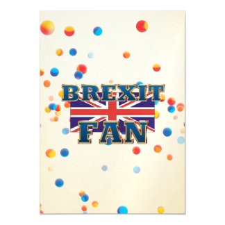 TEE Brexit Fan Magnetic Invitations