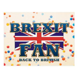 TEE Brexit Fan Postcard