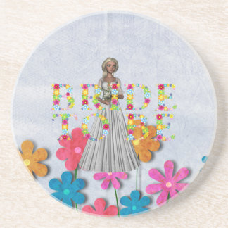 TEE Bride To Be Coaster