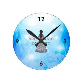 TEE Bridesmaid On Duty Clock