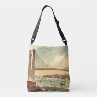 TEE Brooklyn Bridge Crossbody Bag