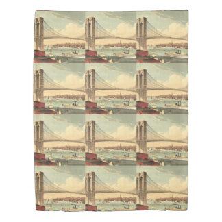 TEE Brooklyn Bridge Duvet Cover