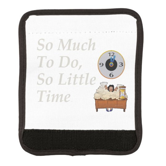 TEE Busy Time Luggage Handle Wrap