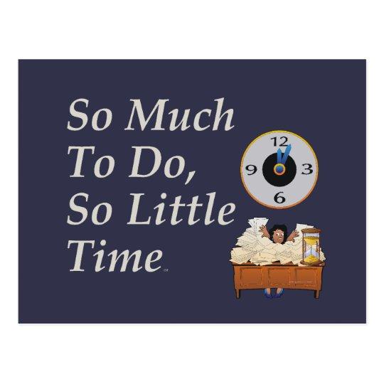 TEE Busy Time Postcard
