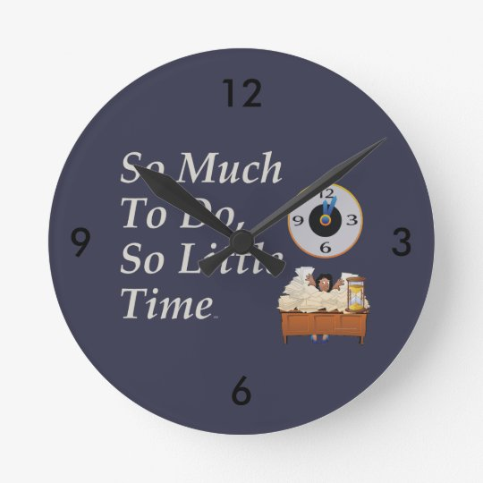 TEE Busy Time Round Clock