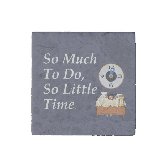 TEE Busy Time Stone Magnets