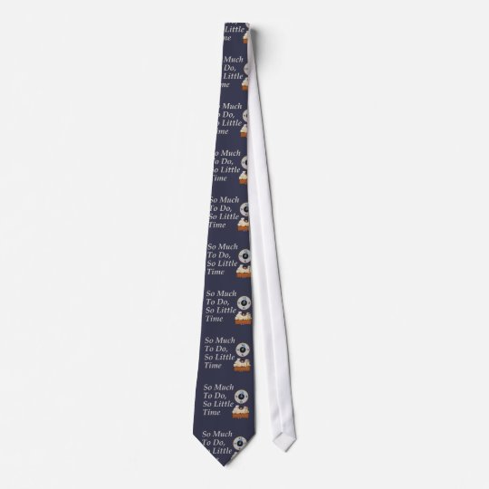 TEE Busy Time Tie