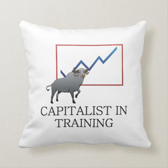 TEE Capitalist in Training Throw Pillow