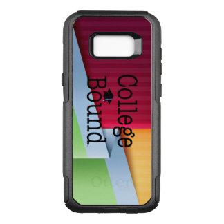 TEE College Bound OtterBox Commuter Samsung Galaxy S8+ Case