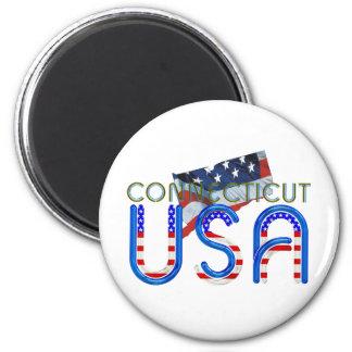 TEE Connecticut Patriot Magnet