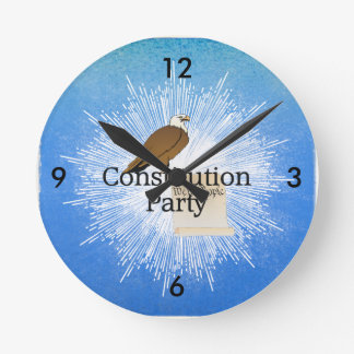 TEE Constitution Party 2016 Round Clock