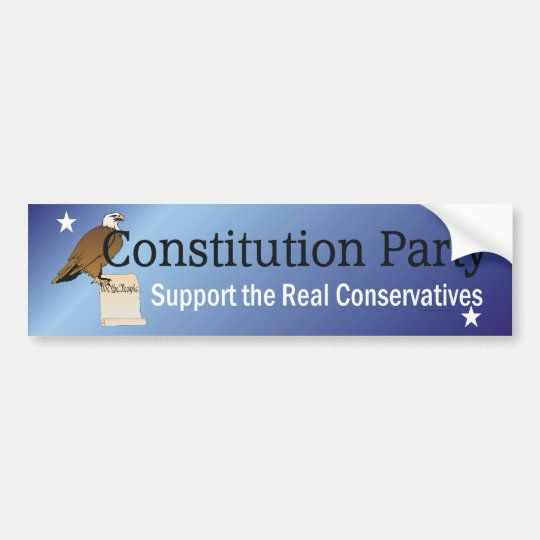 TEE Constitution Party Bumper Sticker