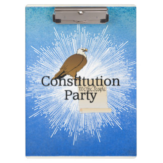 TEE Constitution Party Clipboard