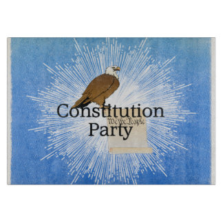 TEE Constitution Party Cutting Board