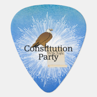 TEE Constitution Party Guitar Pick