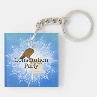 TEE Constitution Party Keychain