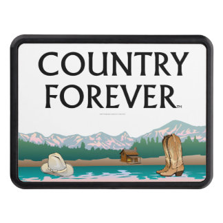 TEE Country Forever Trailer Hitch Cover
